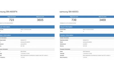 Samsung Galaxy A6 Series 400x240