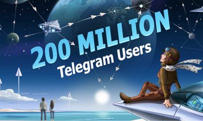 Telegram Active User 400x240