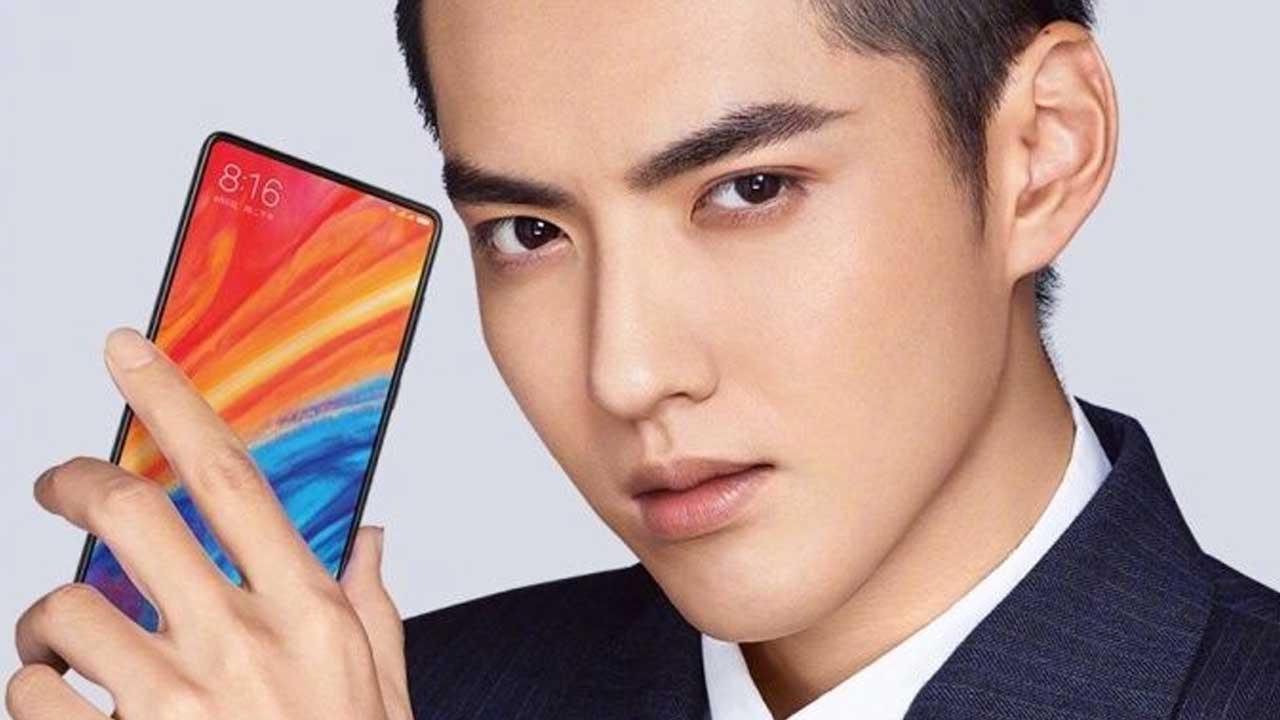 Xiaomi Mi MIX 2S Header Pegang