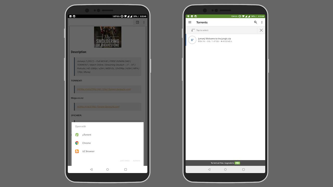 cara download torrent di android 2
