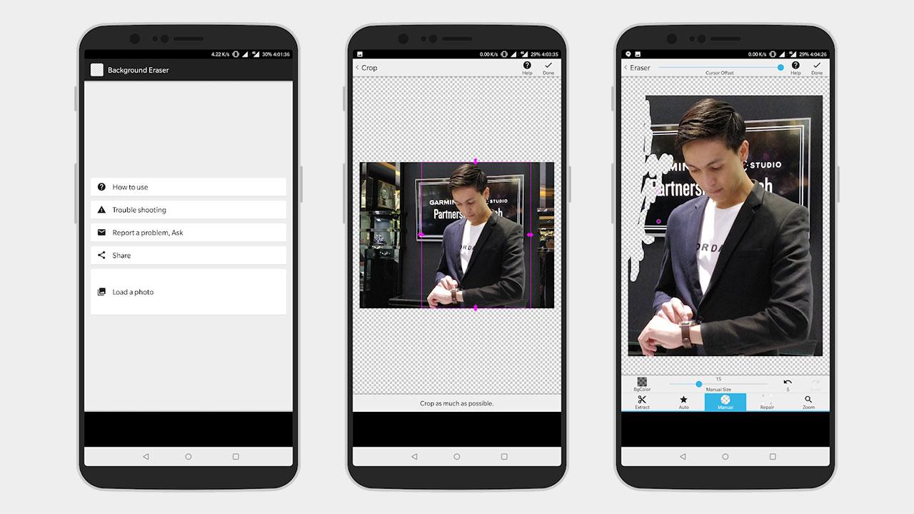 Cara Menghapus Background Foto Di Android