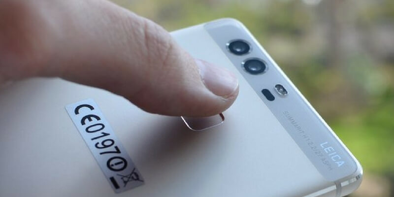 fingerprint belakang bodi