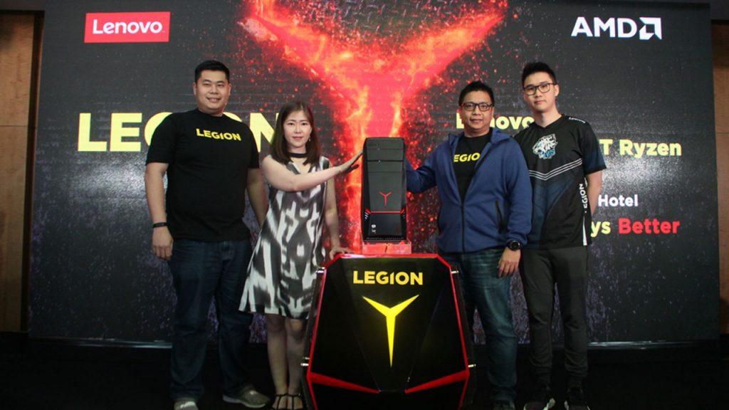 Ditenagai AMD Ryzen Lenovo Legion Y720 Tower Hadir Di
