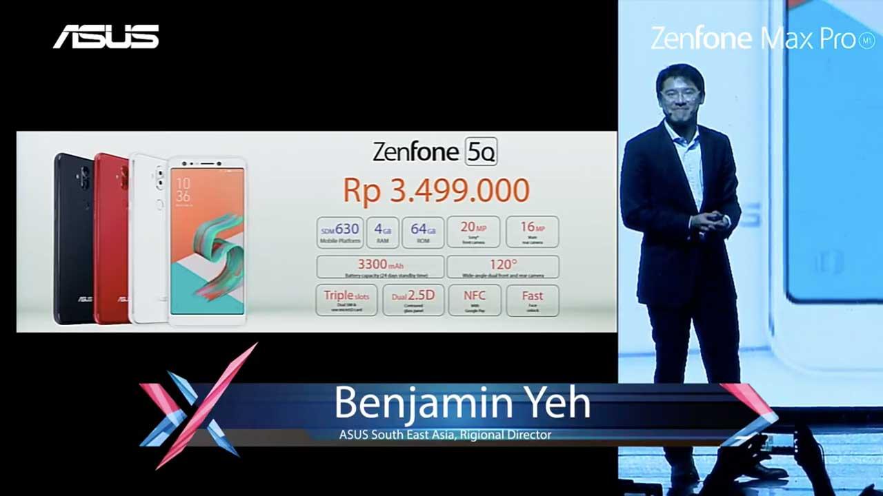 ASUS ZenFone 5Q Indonesia