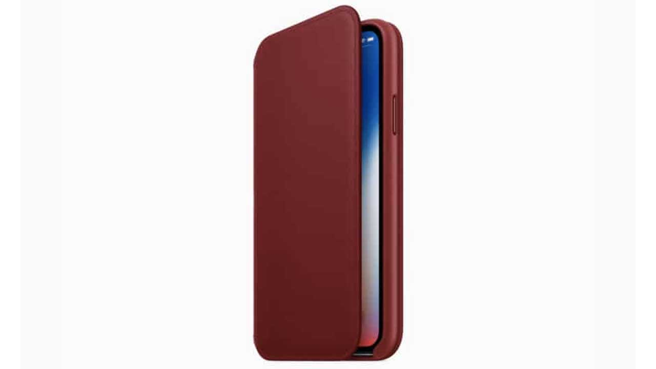 Casing iPhone X RED
