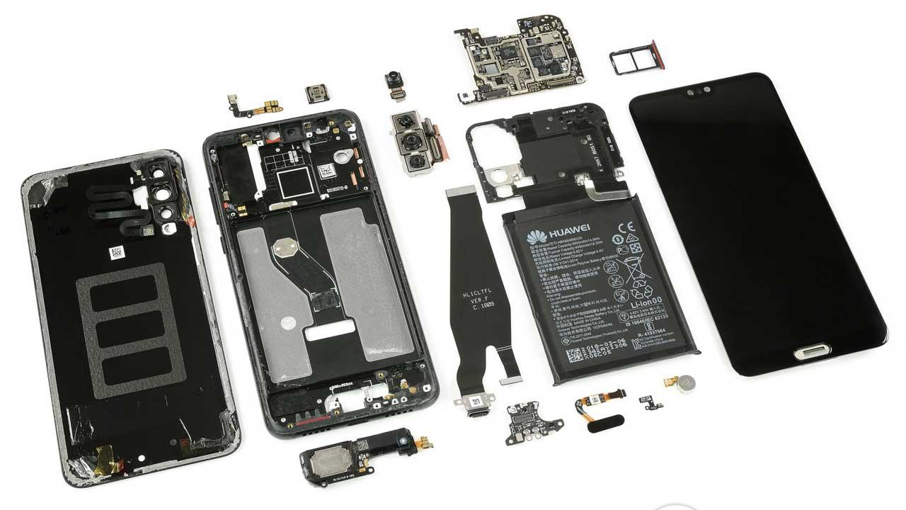 Huawei P20 Pro iFixit