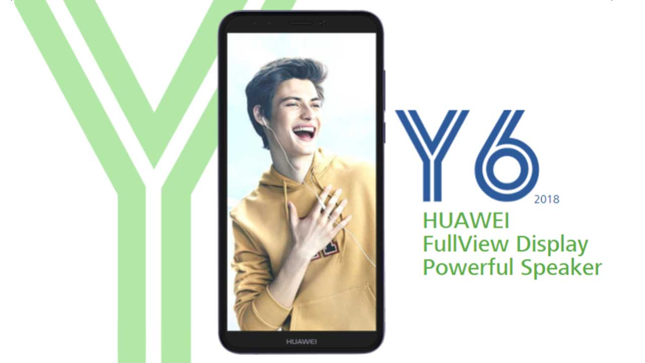 Huawei Y6 2018 Header