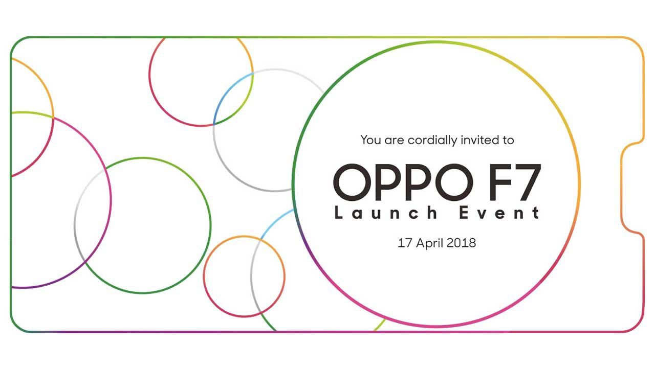 Invitation OPPO F7