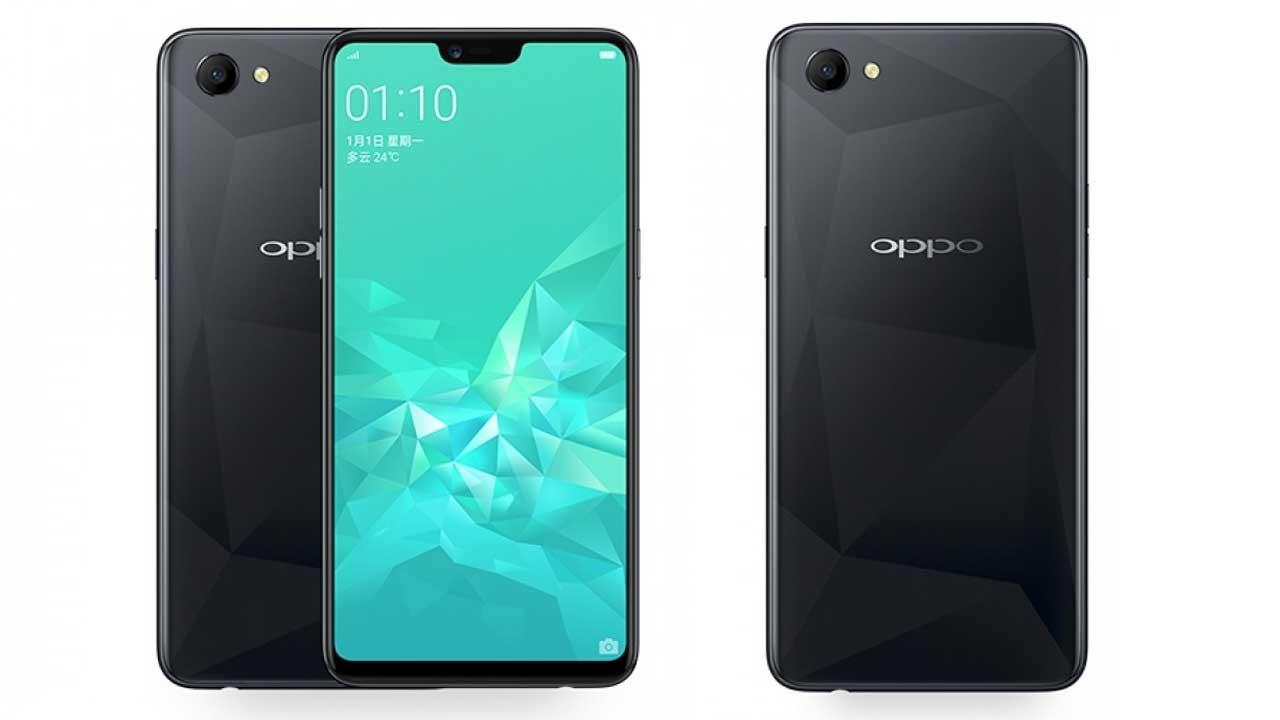 OPPO A3 Header Black