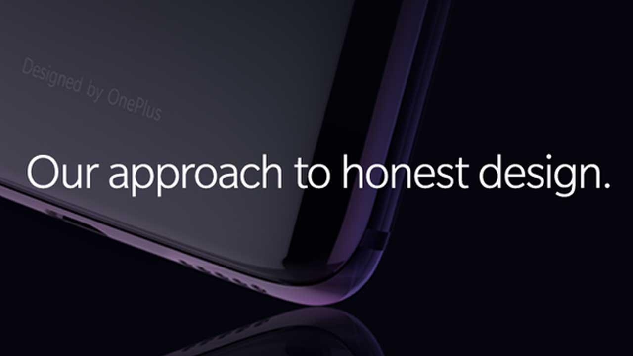 OnePlus 6 Desain Kaca