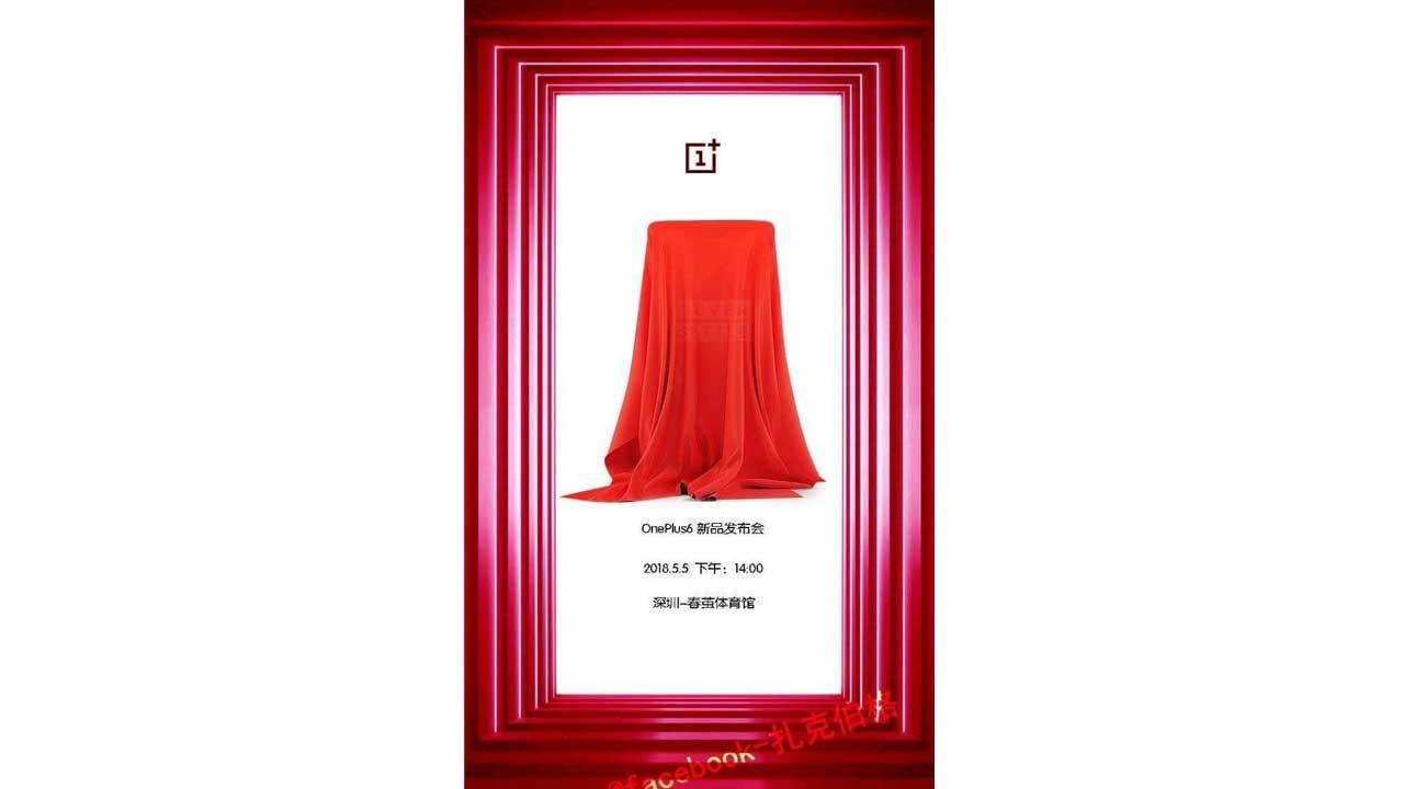 OnePlus 6 Waktu Peluncuran