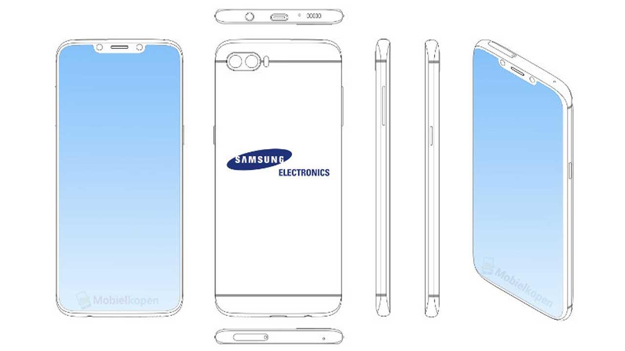 Smartphone Samsung Paten 1