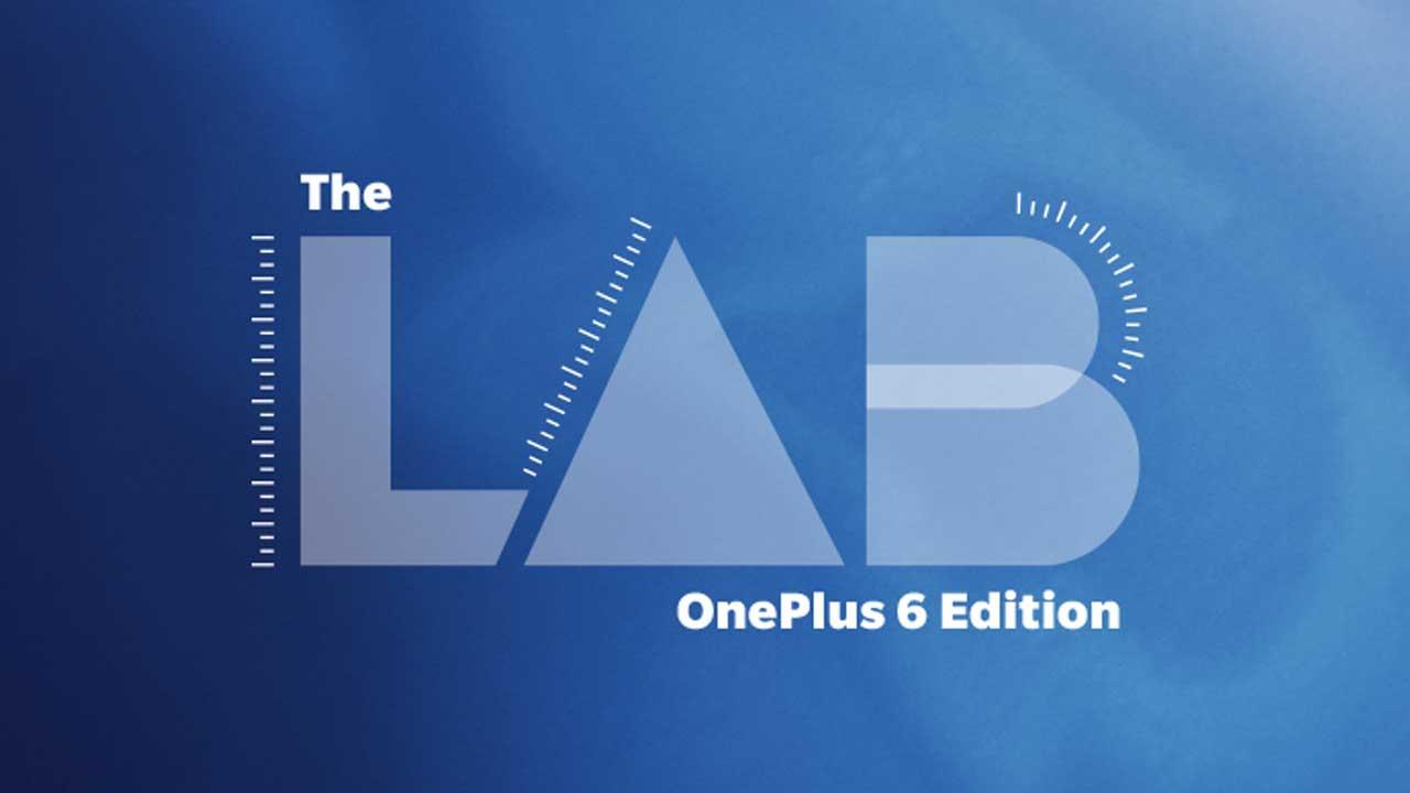 The Lab OnePLus 6