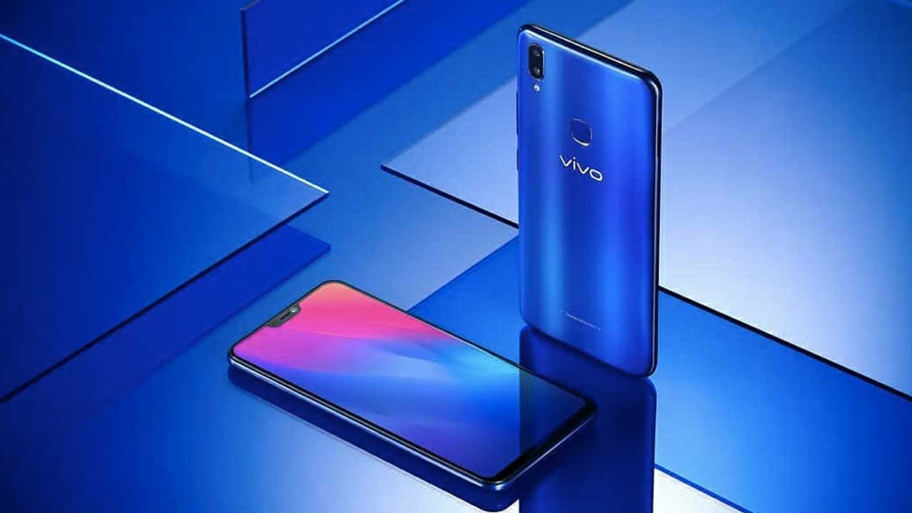 Vivo V9 Blue Cool 1