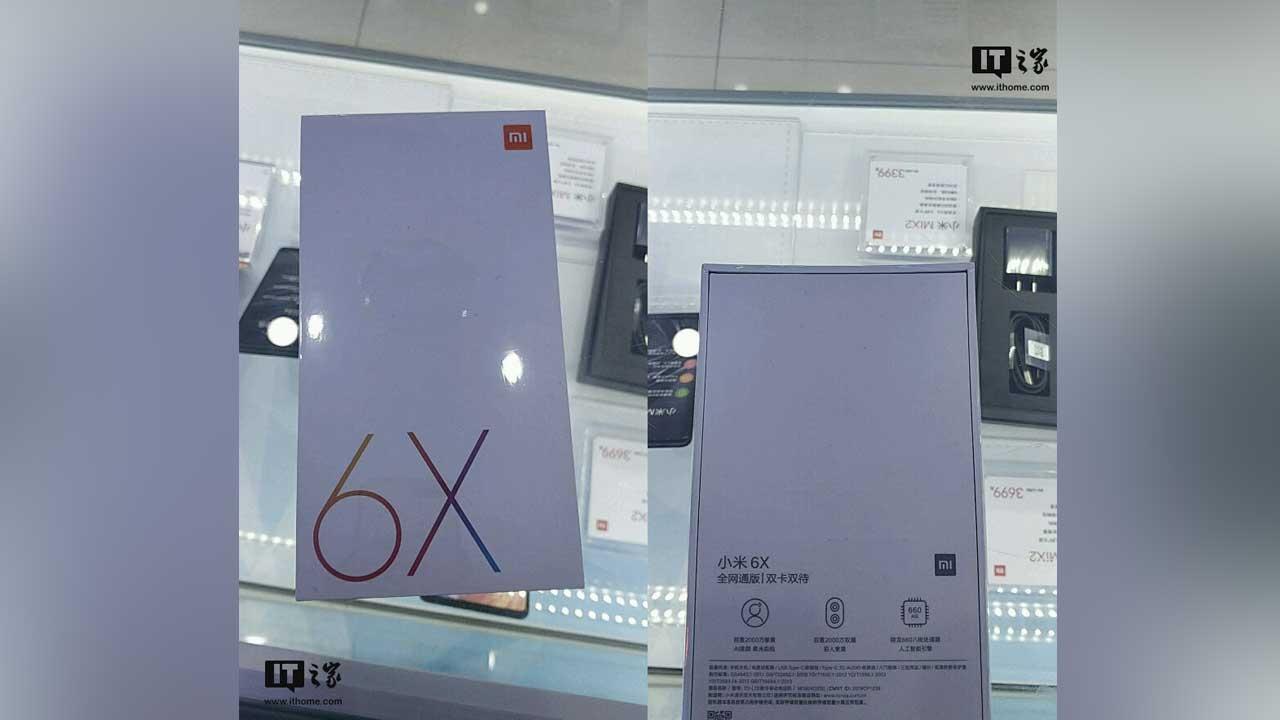 Xiaomi Mi 6X 1