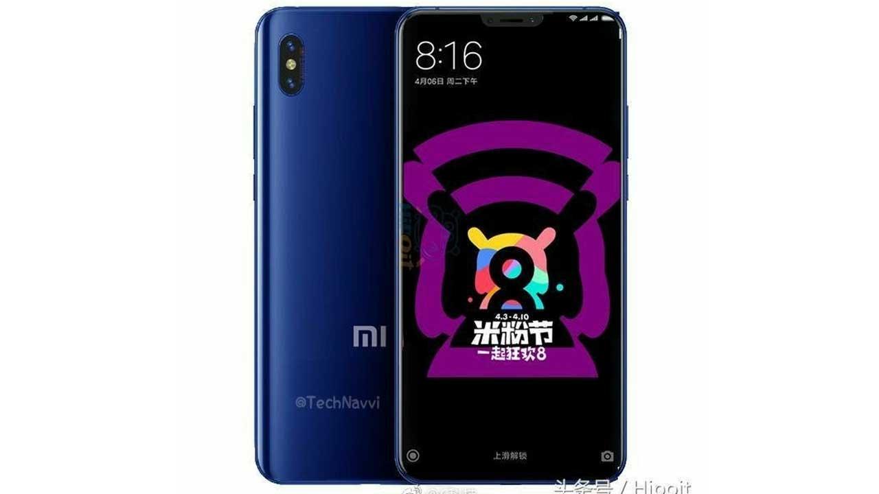 Xiaomi Mi 7 Leak Render 2