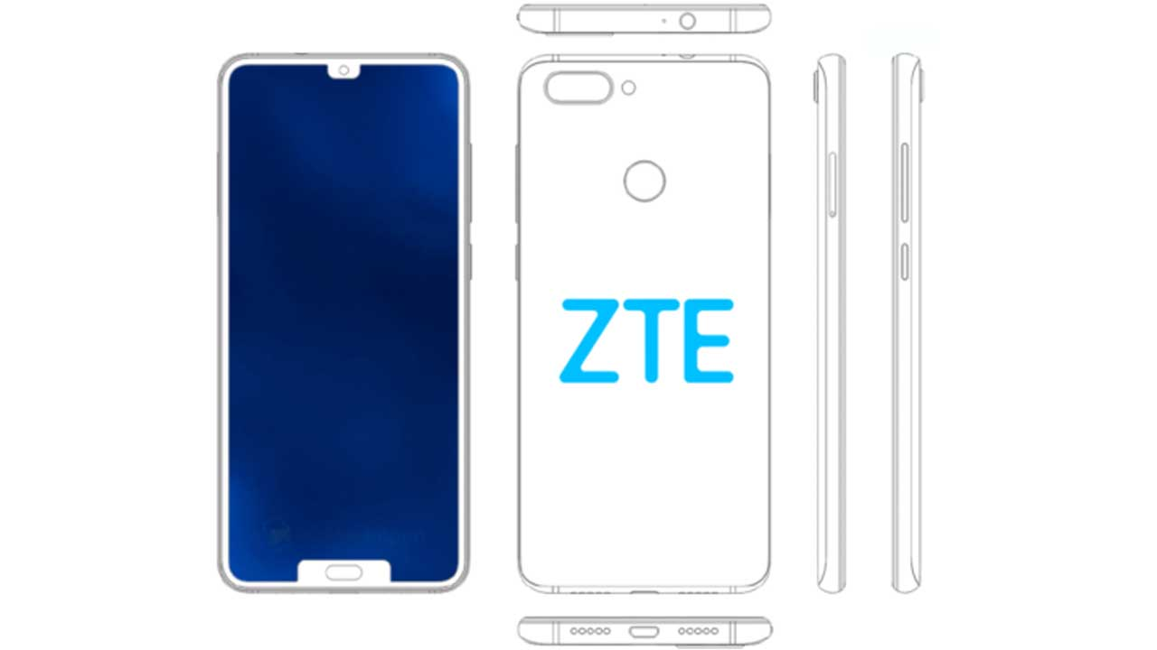 ZTE Dual Notch Poni