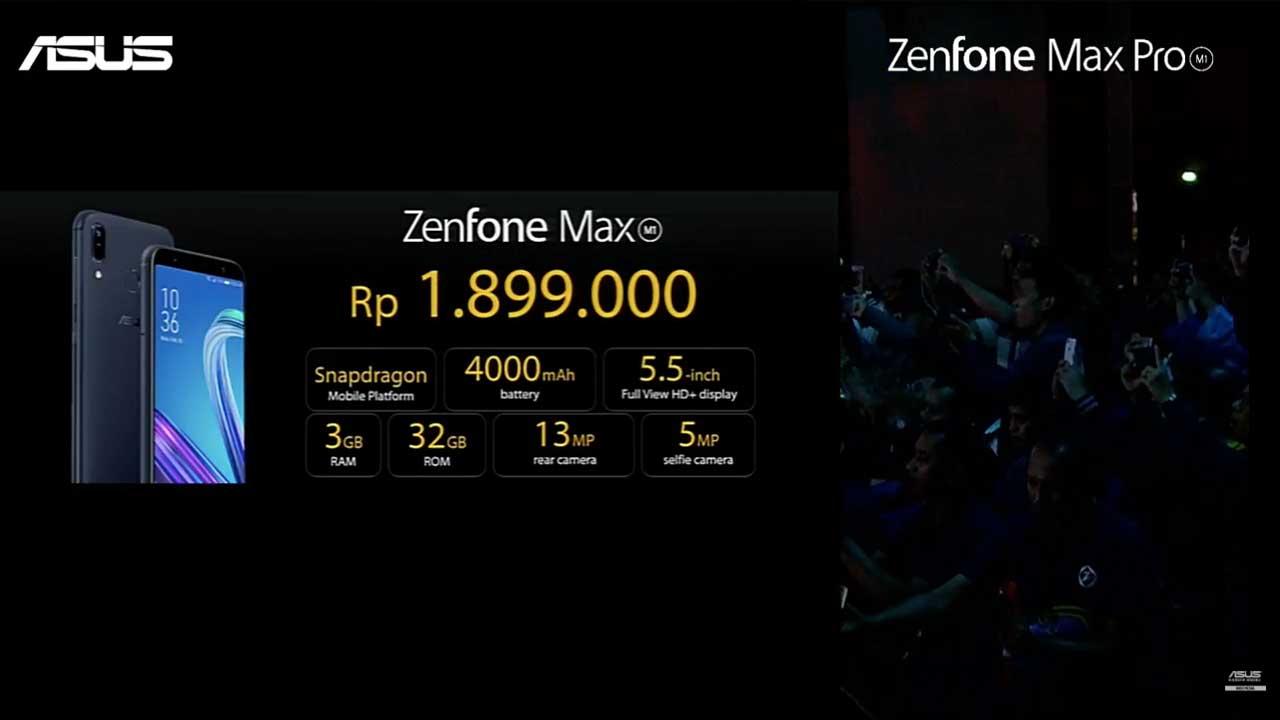 ZenFone Max M1 Harga