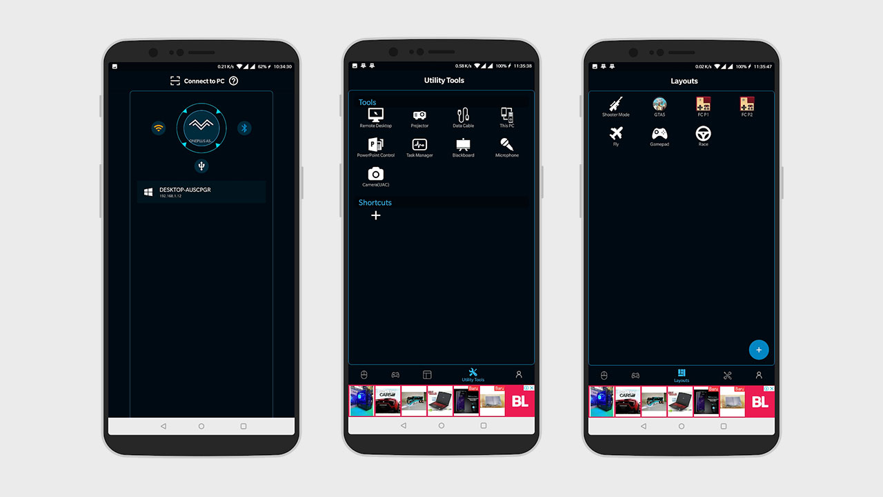 remote pc dari android 1