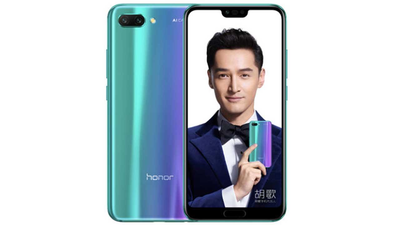 Honor 10 India