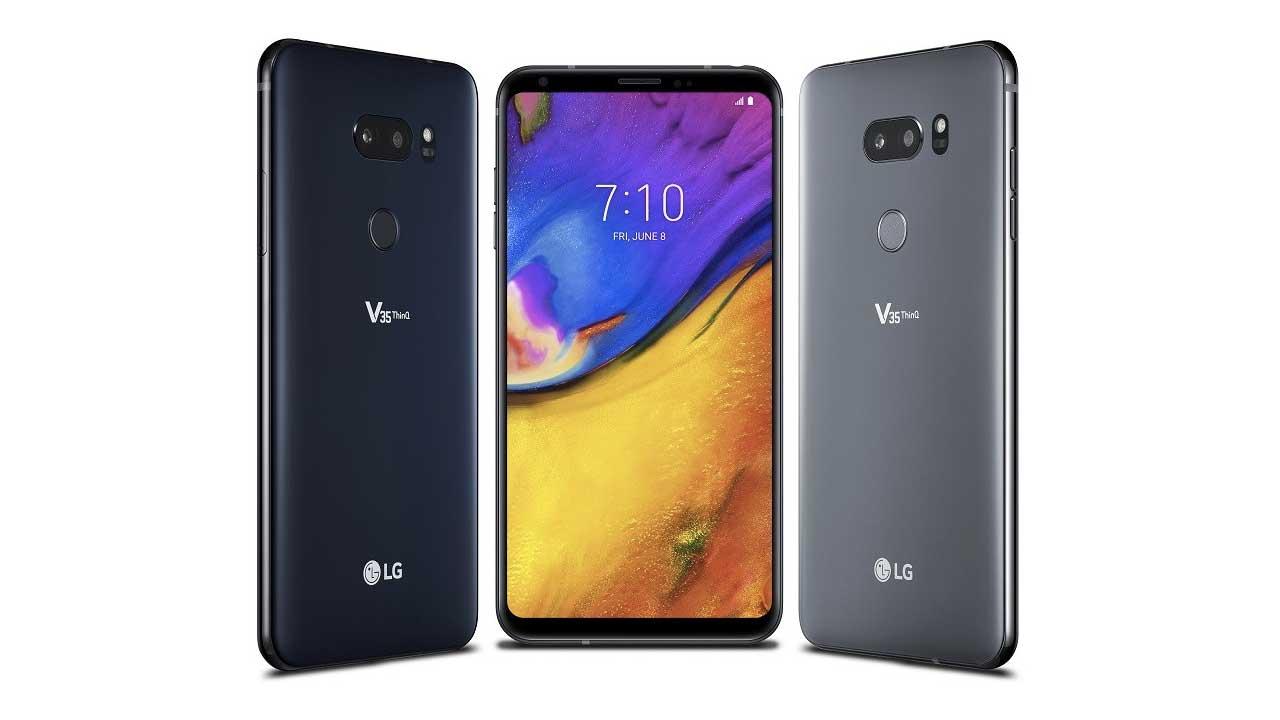 LG V35 ThinQ Launch