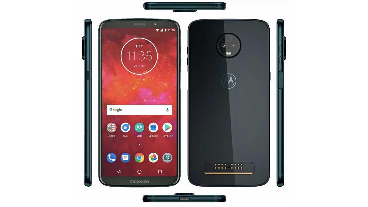 Motorola Moto Z3 Play Leaks