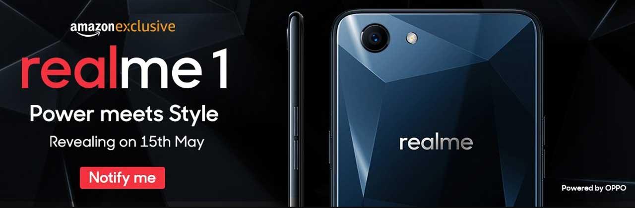 Realme 1 Banner