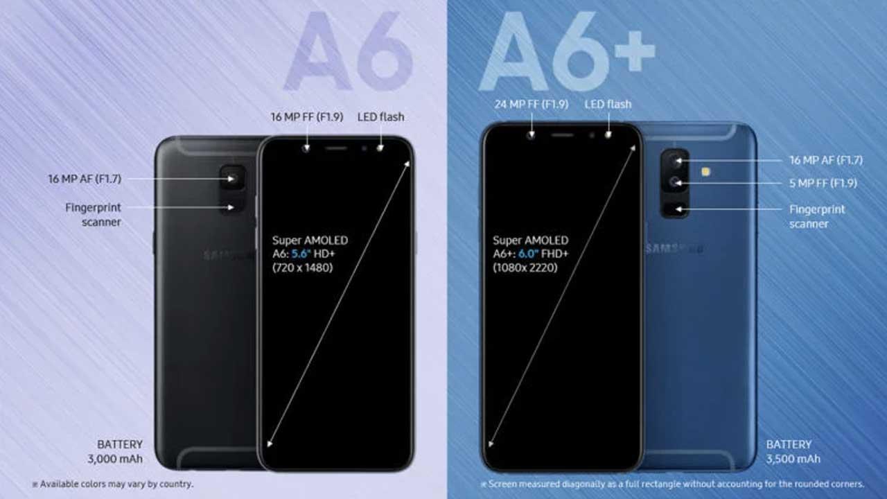 Samsung Galaxy A6 dan A6