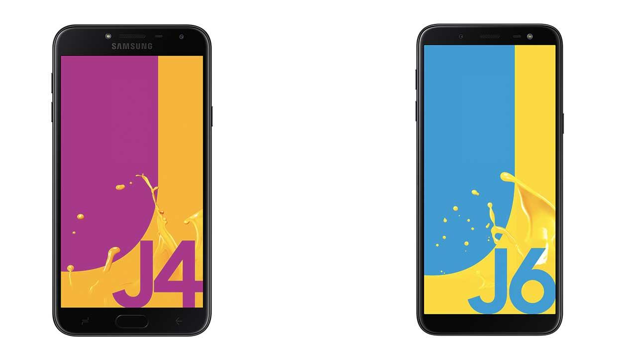 Samsung Galaxy J4 dan J6