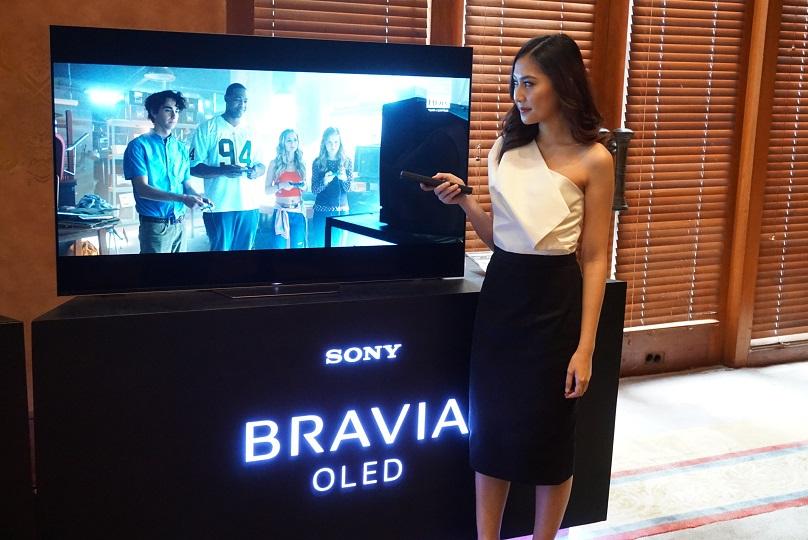TV BRAVIA 4K HDR OLED A8F 2