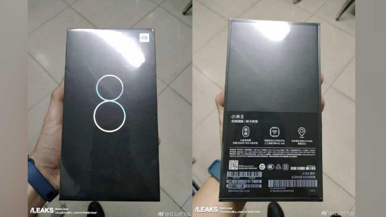 Xiaomi Mi 8 Kotak Ritel