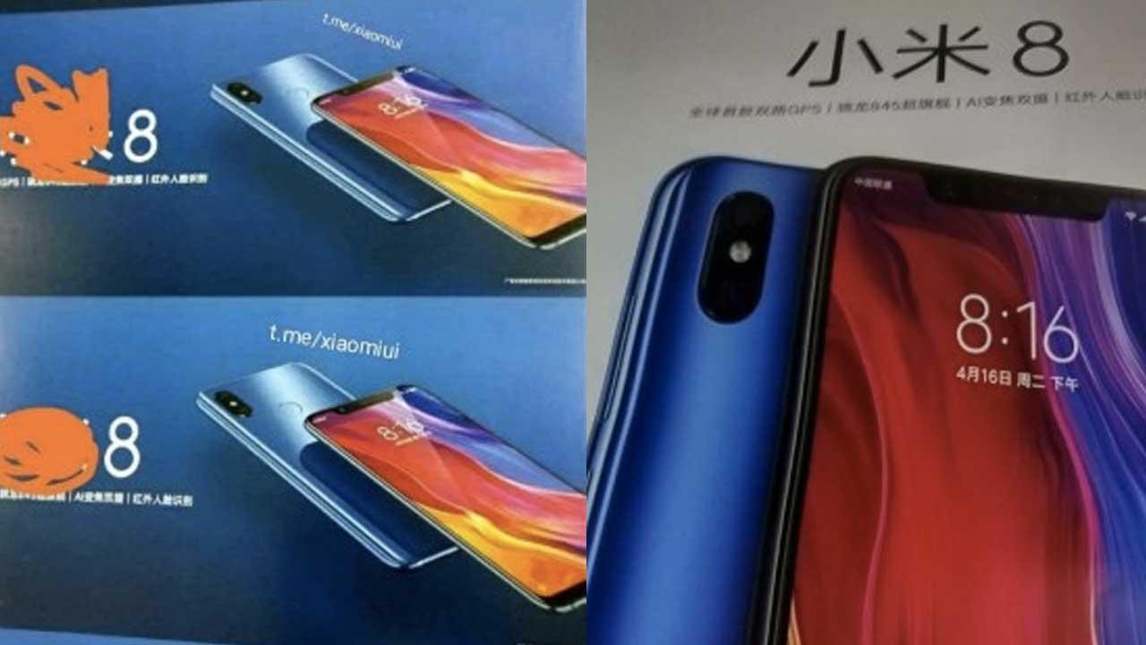 Xiaomi Mi 8 Leaks 2