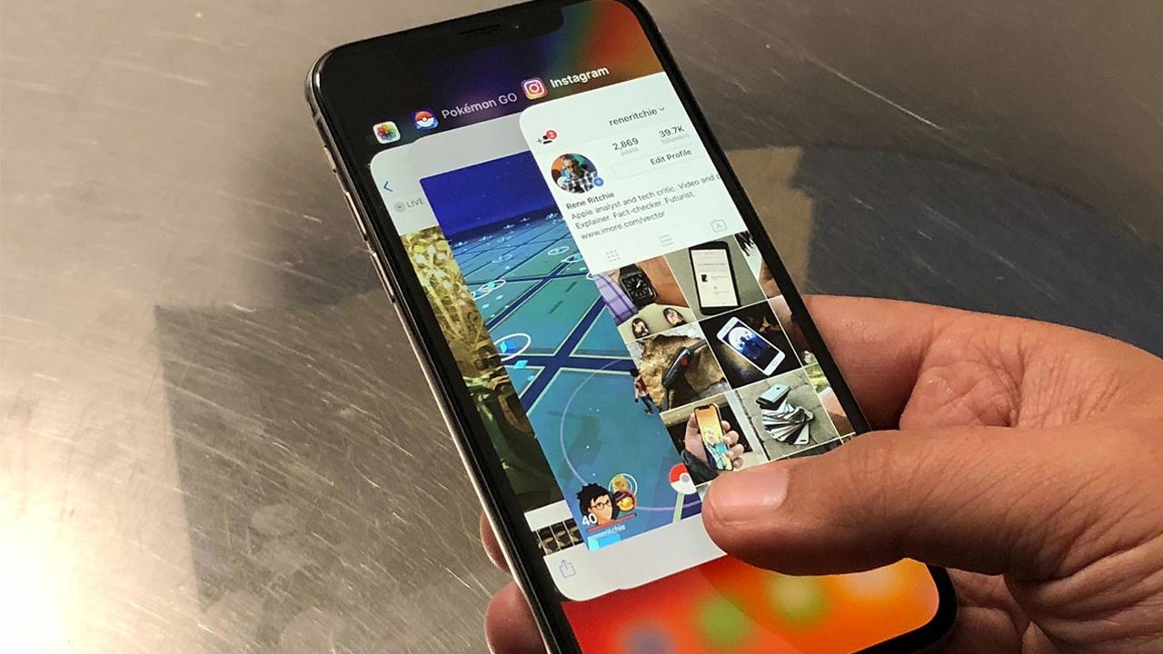 system navigasi iphone x 1