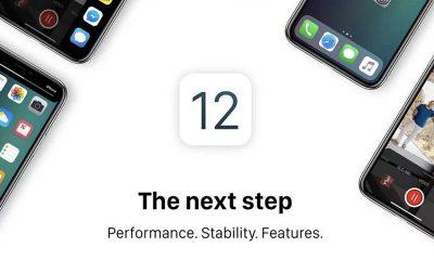 Apple iOS 12 400x240