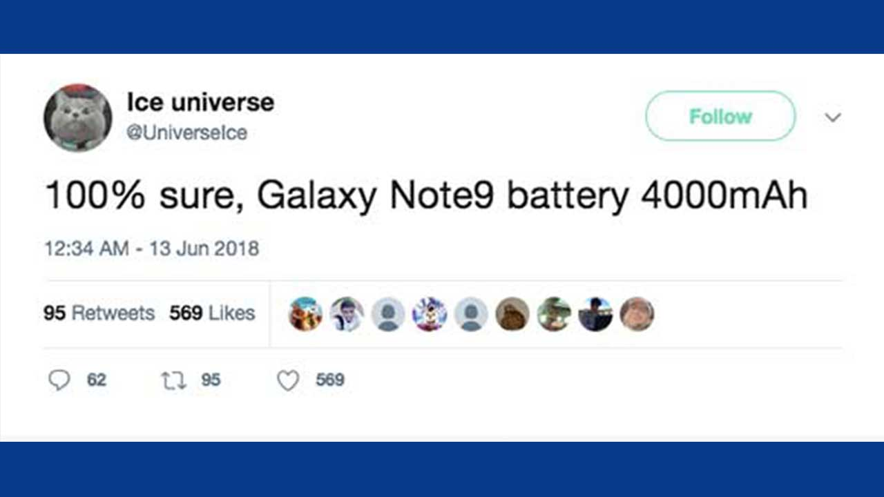 Galaxy Note9 Battery 3