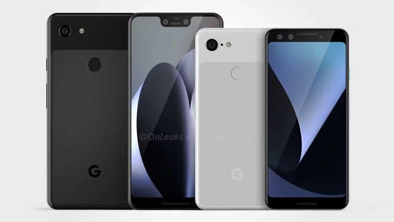 Google Pixel 3 Render 1