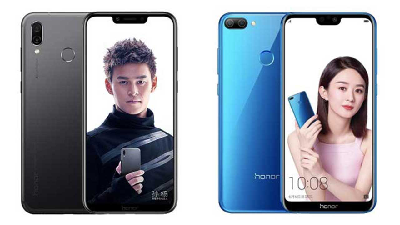 Honor Play and Honor 9i