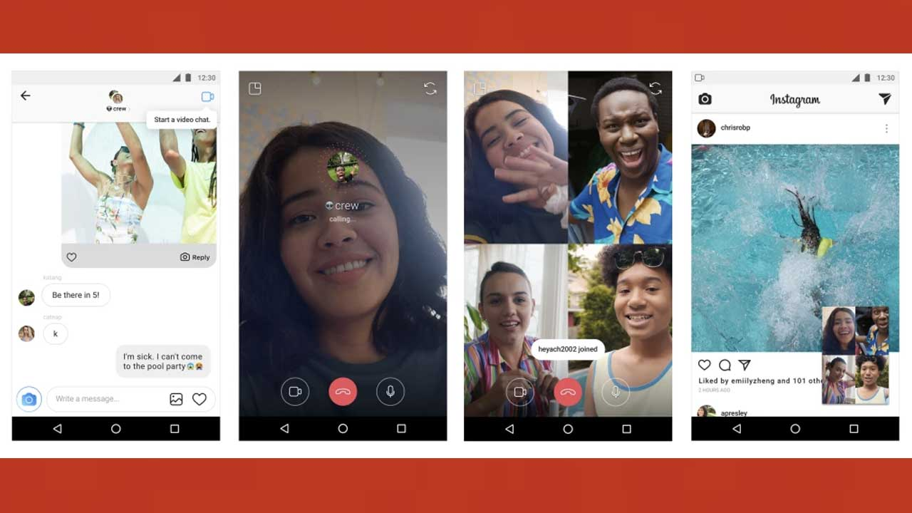 Instagram Muat Fitur Group Video Call