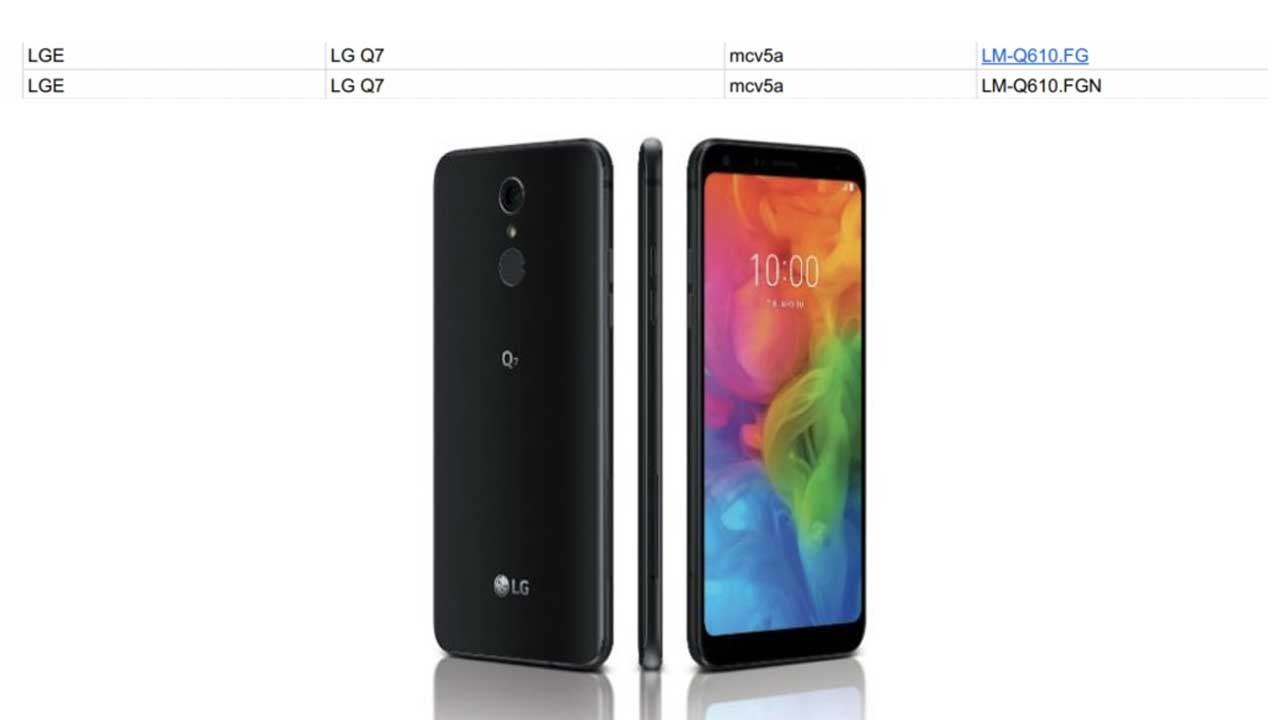 LG Q7 Android One