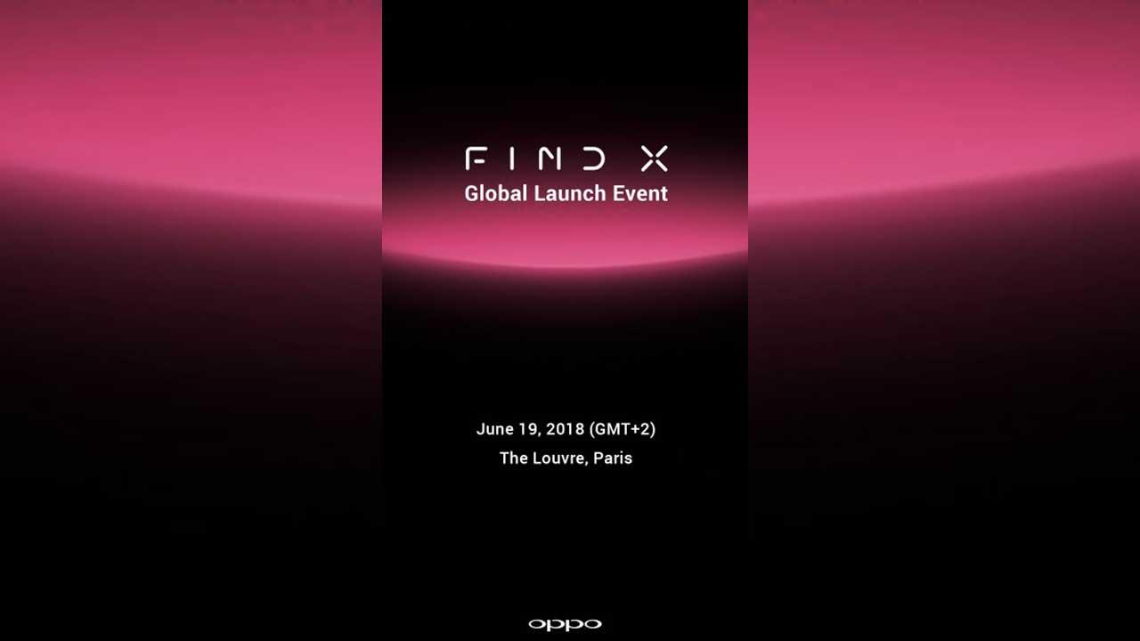 OPPO Find X Launch 1