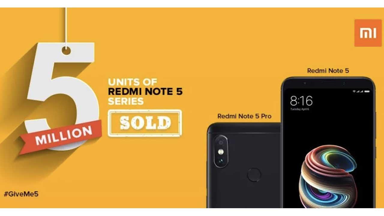 Redmi Note 5 Series 5 Juta