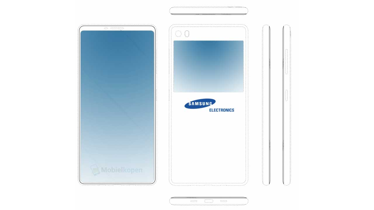 Samsung will Create a Galaxy Smartphone Two Screens, Here's the Sketch