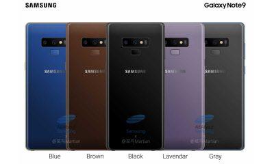 Samsung Galaxy Note9 Color 400x240