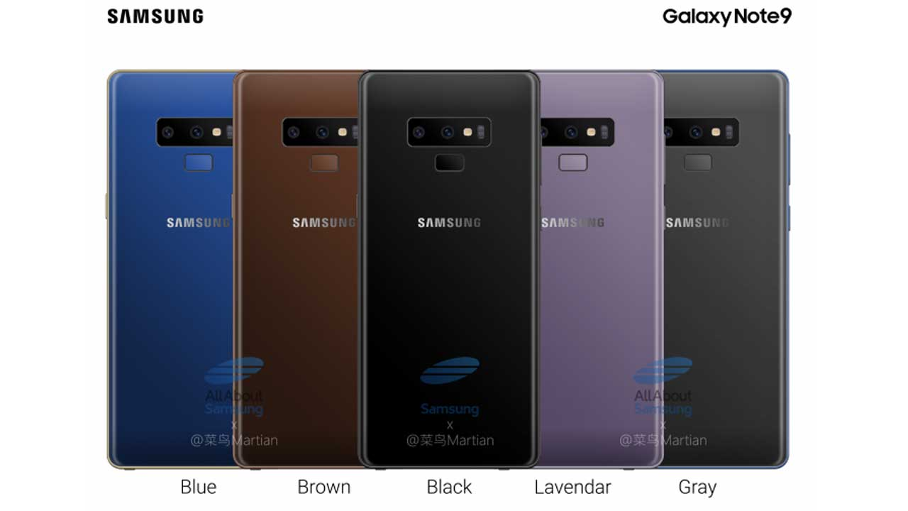 Samsung Galaxy Note9 Color