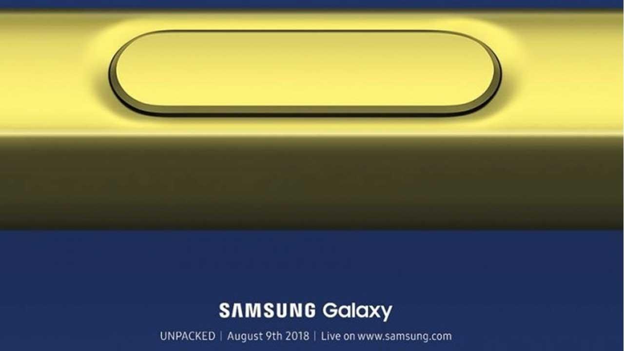 Samsung Galaxy Note9 Unpacked