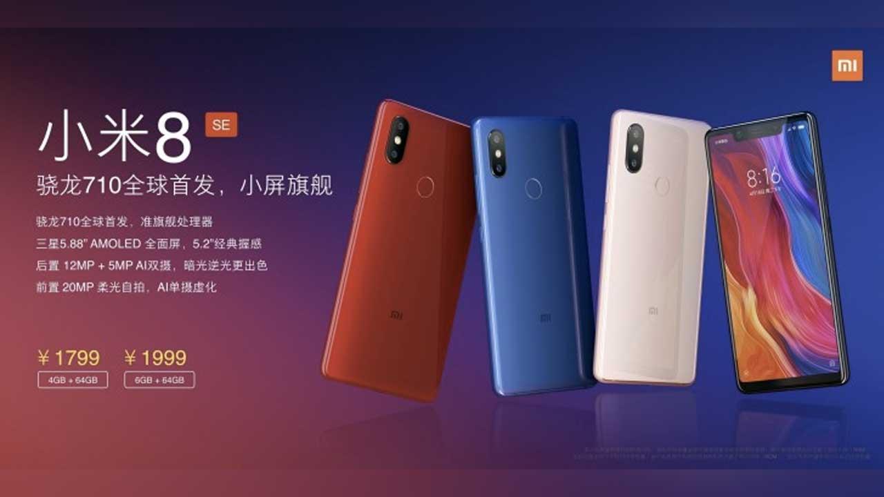 Xiaomi Mi 8 SE Launch 2