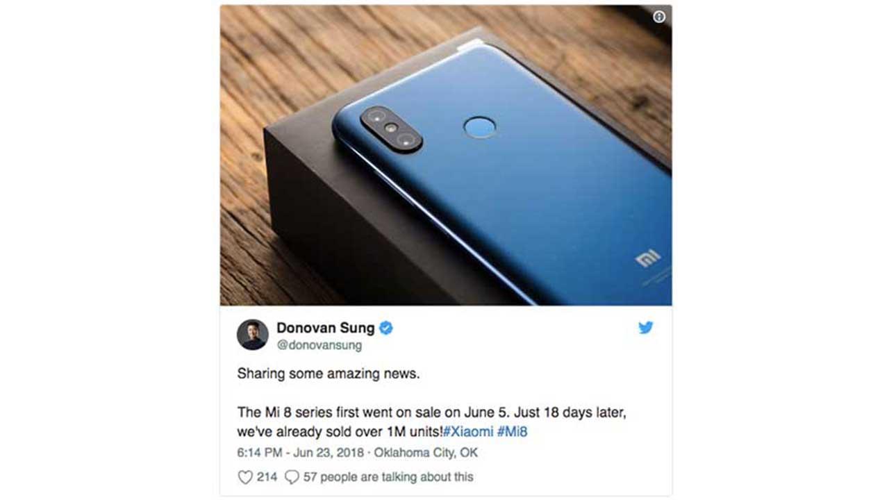 Xiaomi Mi 8 Series 2