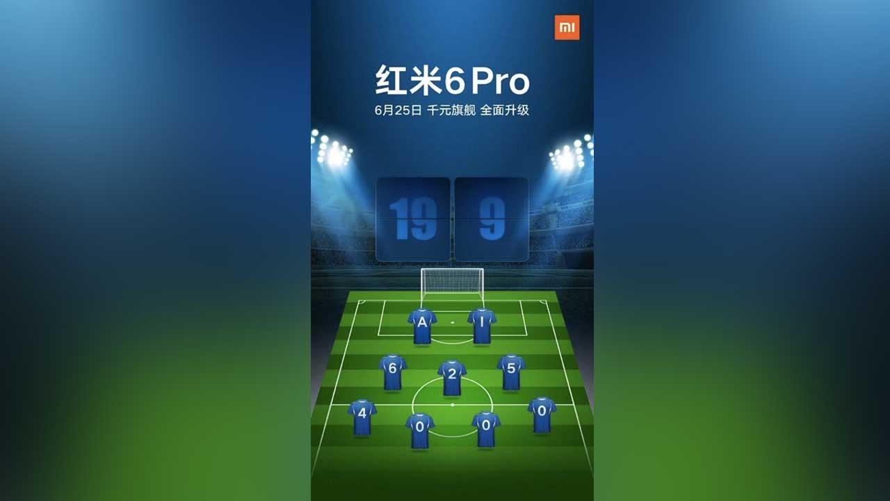 Xiaomi Redmi 6 Pro Launch