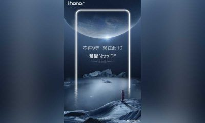 Honor Note 10 Poster 400x240
