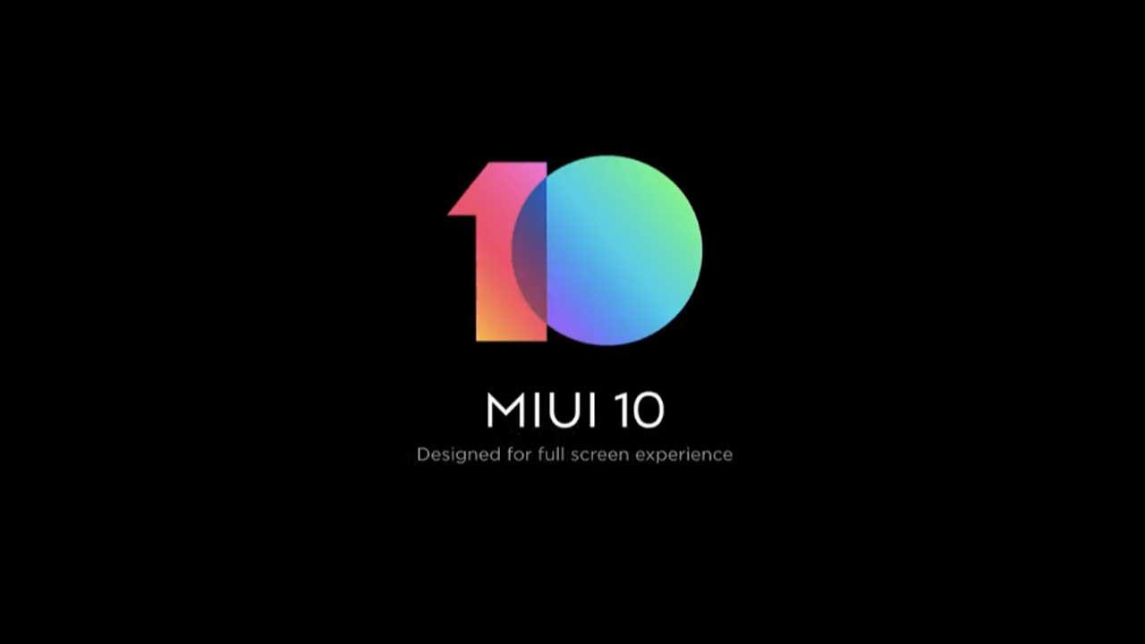 MIUI 10 Redmi Series